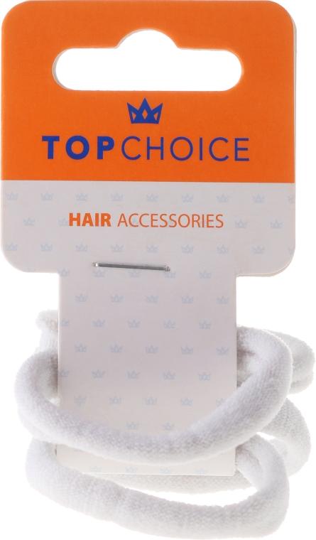 Elastici per capelli, 2579, bianco - Top Choice