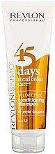 """Profumi e cosmetici Shampoo-Condizionante """"Rame saturo"""" - Revlon Professional Revlonissimo 45 Days Intense Coppers 2in1"""