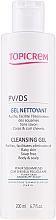Profumi e cosmetici Gel detergente delicato - Topicrem PV/DS Cleansing Gel
