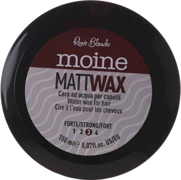 Cera opacizzante per capelli - Renee Blanche Moine Matt Wax