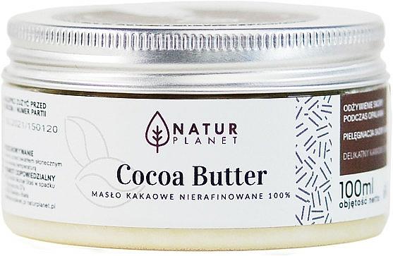 Burro di cacao non raffinato - Natur Planet Cocoa Butter