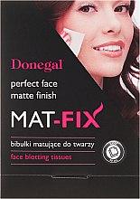 Profumi e cosmetici Salviette opacizzanti - Donegal Face Blotting Tissues Mat-Fix