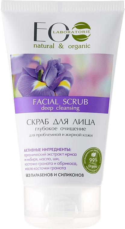 """Scrub viso """"Pulizia profonda"""" - Eco Laboratorie Facial Scrub"""