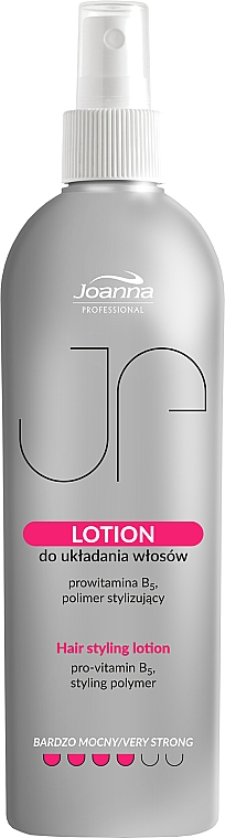 Lozione fissante per capelli - Joanna Professional Lotion for Hair Styling Very Strong — foto N2