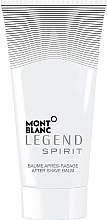 Profumi e cosmetici Montblanc Legend Spirit - Balsamo dopobarba