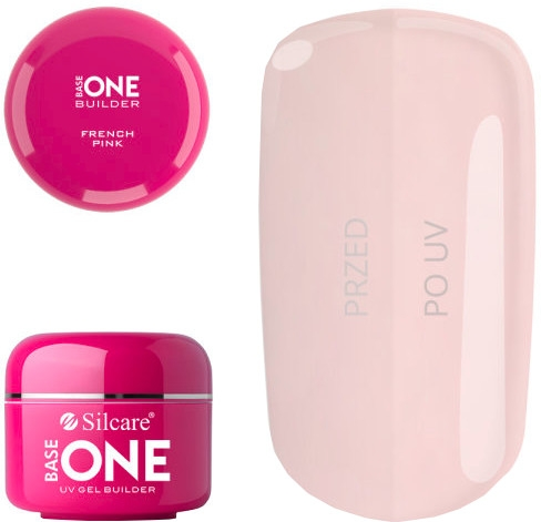 Gel per unghie - Silcare Uv Gel Builder Base One French Pink