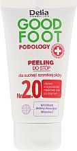 Profumi e cosmetici Scrub piedi - Delia Cosmetics Good Foot Podology Nr 2.0