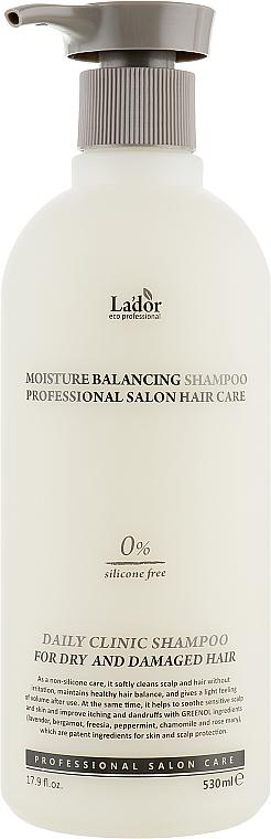 Shampoo idratante senza silicone - La'dor Moisture Balancing Shampoo
