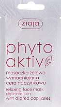 Profumi e cosmetici Maschera viso PhytoAktiv - Ziaja Face Mask