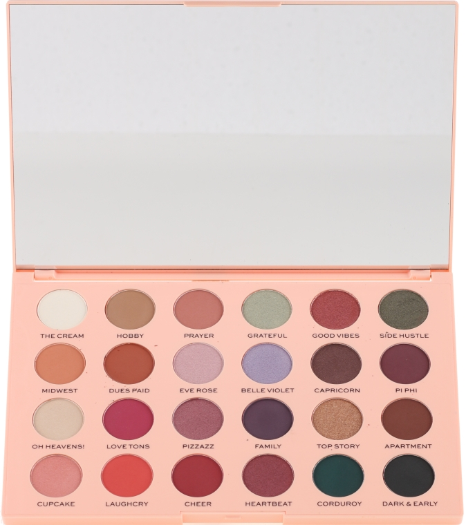 Palette di ombretti - Makeup Revolution The Emily Edit The Wants Eyeshadow Palette