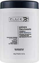 Profumi e cosmetici Polvere per capelli decolorante, blu (vaso) - Black Professional Line Bleaching Powder Blue