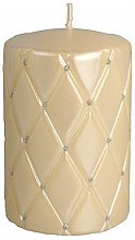 Profumi e cosmetici Candela decorativa, 10 cm, color crema - Artman Florence Candle
