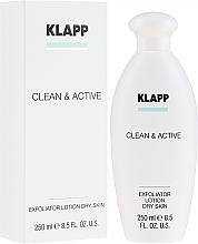 Profumi e cosmetici Esfoliante per pelle secca - Klapp Clean & Active Exfoliator Dry Skin