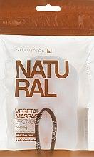 Profumi e cosmetici Spugna da bagno massaggiante, cellulosa-poliuretano - Suavipiel Natural Vegetal Massage Sponge