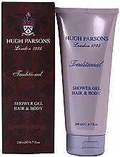 Profumi e cosmetici Hugh Parsons Traditional Shower Gel Hair Body - Gel doccia