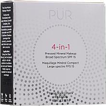 Profumi e cosmetici Fondotinta minerale - Pur 4-In-1 Pressed Mineral Makeup SPF15