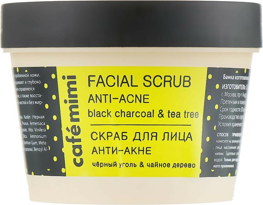 """Scrub viso """"Anti-acne"""" - Cafe Mimi Facial Scrub Anti-Acne"""