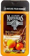 "Profumi e cosmetici Gel doccia ""Arancia e Argan"" - Le Petit Marseillais Men Body and Hair"