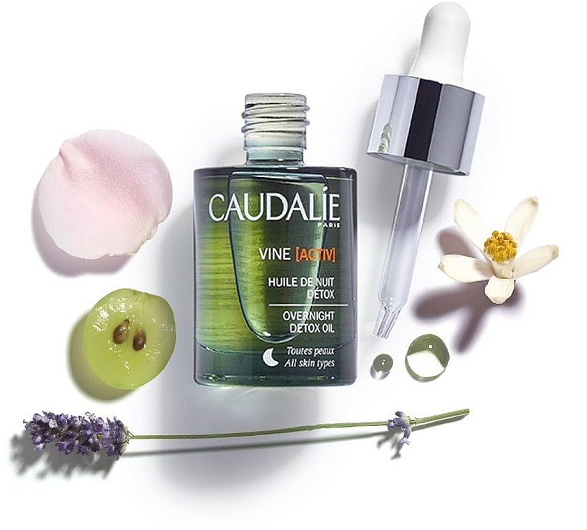 Olio viso - Caudalie VineActiv Overnight Detox Oil — foto N3