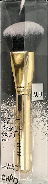 Pennello per contouring, 107 - Auri Chad Pro Triangle Angled Brush — foto N1