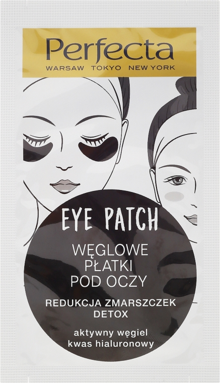 Patch occhi, con carbone - Dax Cosmetics Perfecta Eye Patch