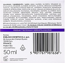 Crema viso antietà - Eveline Cosmetics Skin Care Expert Snail Slime Filtrate + Coenzyme Q10 Cream — foto N2