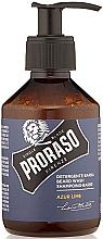 Profumi e cosmetici Shampoo per la barba - Proraso Azur Lime Beard Wash