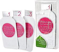 """Profumi e cosmetici Trattamento SPA mani e unghie """"Pompelmo rosa"""" - Voesh Mani In A Box Vitamin Recharge Pink Grapefruit (10 g)"""