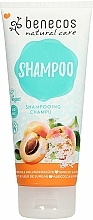 """Profumi e cosmetici Shampoo per capelli """"Albicocca e sambuco"""" - Benecos Natural Care Apricot & Elderflower Shampoo"""