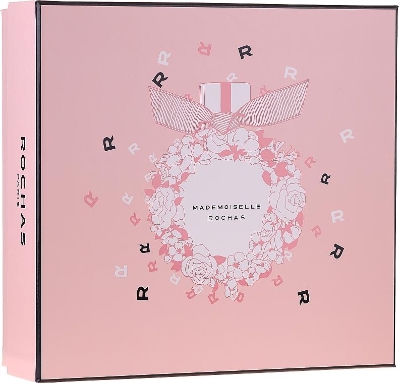 Rochas Mademoiselle Rochas - Set (edp/50ml + b/lot/50ml + sh/gel/50ml)