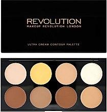 Profumi e cosmetici Palette per il contouring viso - Makeup Revolution Ultra Cream Contour Palette