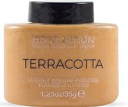 Profumi e cosmetici Cipria - Makeup Revolution Terracotta Luxury Baking Powder
