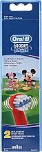 Profumi e cosmetici Testine per spazzolino da denti, per bambini EB10, Topolino - Oral-B Stages Power Disney