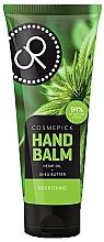 Profumi e cosmetici Balsamo mani con olio di canapa ed estratto di burro di karité - Cosmepick Hand Balm Hemp Oil&Shea Butter