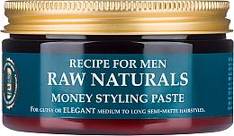 Profumi e cosmetici Pasta per capelli - Recipe For Men RAW Naturals Money Styling Paste
