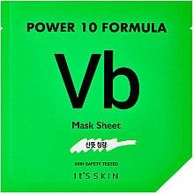 Profumi e cosmetici Maschera concentrata in bustina per pelli problematiche - It's Skin Power 10 Formula Vb Mask Sheet