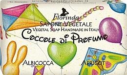 """Profumi e cosmetici Sapone naturale per bambini """"Albicocca"""" - Florinda Sapone Apricot"""