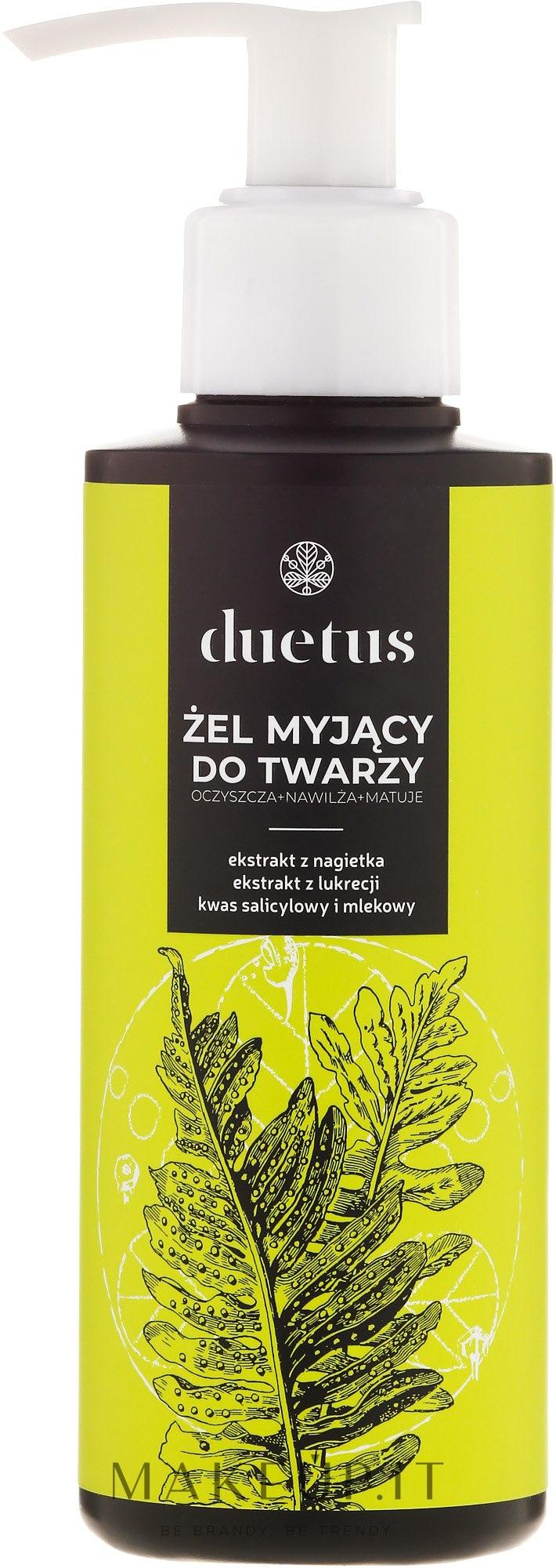 Gel detergente - Duetus Face Wash Gel — foto 150 ml