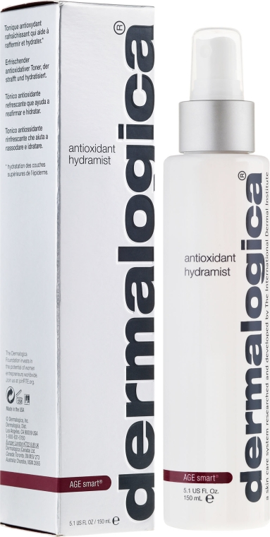 Spray viso idratante atioxidante - Dermalogica Age Smart Antioxidant Hydramist