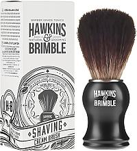 Profumi e cosmetici Pennello da barba con setole sintetiche - Hawkins & Brimble Synthetic Shaving Brush