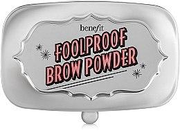 Profumi e cosmetici Polvere per sopracciglia - Benefit Foolproof Brow Powder