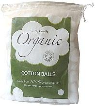 Profumi e cosmetici Batuffoli di cotone - Simply Gentle Organic Cotton Wool Balls