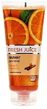 "Profumi e cosmetici Peeling per il corpo ""Orange and Cinnamon"" - Fresh Juice Orange & Cinnamon"