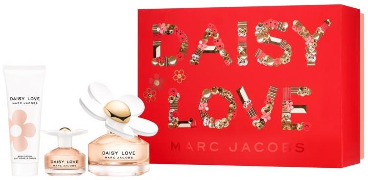 Marc Jacobs Daisy Love - Set (edt/100ml + edt/4ml + b/lot/75ml) — foto N1