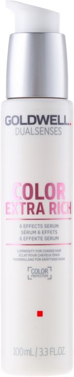 Siero intensivo per capelli colorati brillanti - Goldwell Dualsenses Color Extra Rich 6 Effects Serum