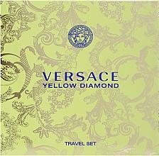 Profumi e cosmetici Versace Yellow Diamond - Set (edt 90ml + b/lot 100ml)