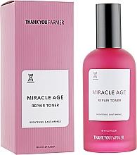 Profumi e cosmetici Tonico rigenerante antirughe - Thank You Farmer Miracle Age Tooner