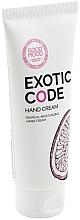 Profumi e cosmetici Crema mani idratante per pelli secche e normali - Good Mood Exotic Code Hand Cream