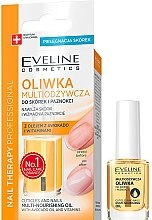 Profumi e cosmetici Olio nutriente per unghie - Eveline Cosmetics Nail Therapy Professional