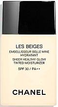 Profumi e cosmetici Fondotinta idratante - Chanel Les Beiges Sheer Healthy Glow SPF 30/PA++